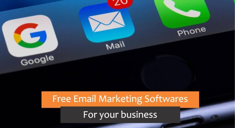 free email marketing softwares for your business